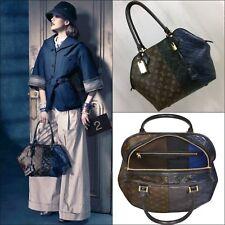 Mujeres $4K Louis Vuitton LV Monogram con logotipo de cuero marina Bolsa Shopper Bolso de mano Bolsón