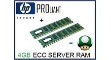 4gb (2x2gb) memoria ECC RAM aggiornamento HP ProLiant dl140 g2 server (Single Rank)