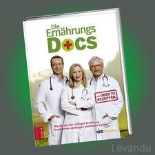 DIE ERNÄHRUNGS-DOCS   Das Buch zur TV-Sendung mit über 70 Rezepten - NEU