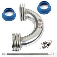 Novarossi Polished Curved Header Set 2Rings Ø16/13mm + 21000 + 60001 + 60004 - N