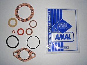 AMAL 376 Monobloc Carb. NEW Genuine GASKET kit SET AJS BSA Triumph Norton RKC499