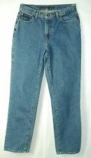 Classic Waist Relaxed Straight Leg HEAVY Denim 100% Cotton DKNY Jeans! 8L