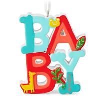 Hallmark 2016 Baby Hallmark Gift Ornament