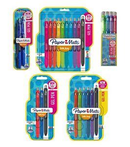 Paper Mate Inkjoy Gel Pens 2 3 6 10 Packs Assorted Colours 0.7mm Medium Point