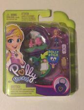 Polly Pocket Tiny Pocket World Polly & Peaches Mini Compact Playset