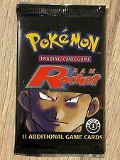 1st Edition Team Rocket Factory Sealed Pokemon Booster Box Pack Artwork Design 1