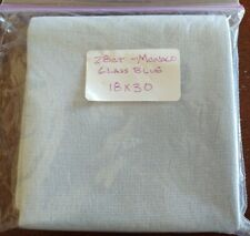 "New ListingFabric - 28ct. Monaco 18""x30"" Cross Stitch Fabric Glass Blue"