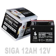 Roller Batterie 12AH  200A/EN 12V AGM Motorradbatterie YTX12-BS