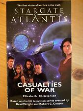 Stargate Atlantis - Casualties of War von Elizabeth Christensen (Buch)- Englisch