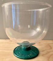 RARE!  Vintage Plastic 2 Cent Mints Schrafft's Bowl With Stem