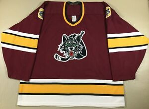 Chicago Wolves Ice Hockey AHL Bauer Jersey SizeXL
