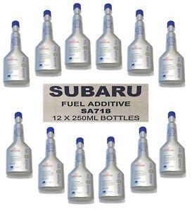 GENUINE SUBARU FUEL ADDITIVES BOX OF 12 SA718 NEW