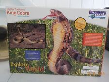 Discovery Channel Nature Crafted Creatures King Cobra Plastic Model Kit