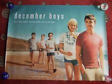 "December boys, genuine original UK quad poster rolled 40"" x 30"", 2005 Radcliffe"