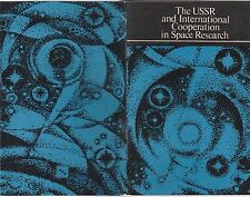 USSR AND INTERNATIONAL COOPERATION IN SPACE RESEARCH-1975 NOVOSTI PRESS