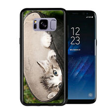 Curious Kitten Peek A Boo For Samsung Galaxy S8 2017 Case Cover by Atomic Market