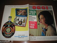 RIVISTA OGGI 1963/47=IRA FURSTENBERG=RITA PAVONE=I CAVALIERI DEL CIELO=