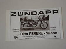 advertising Pubblicità 1976 MOTO ZUNDAPP KS 125