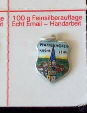 alter Anhänger Bettelarmband Email/Silber Pfaffenhofen