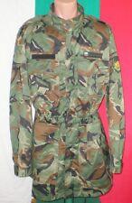 Bulgarian Army WOODLAND CAMOUFLAGE Pattern COAT Jacket sz. XL