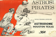 1970 Houston Astros v Pirates Program