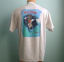 Half Dead Surf Club Official Tee Shirts Surfing Vintage Longboard Skateboard
