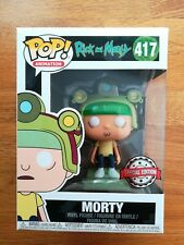 RICK & MORTY FUNKO POP MORTY BLIPS & CHITZ SPECIAL EDITION 417