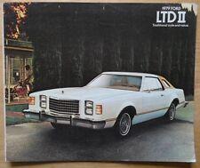 FORD LTD II orig 1979 USA Mkt sales brochure