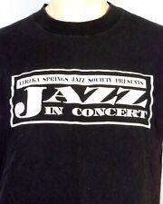 vtg 90s single stitch Jazz Legend Herb Ellis Ts Monk T-Shirt Tour Concert 1993 L