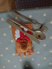 Kids Christmas Cutlery Sets
