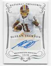 2014 2015 PANINI NATIONAL TREASURES DESEAN JACKSON AUTOGRAPH #D /35 REDSKINS