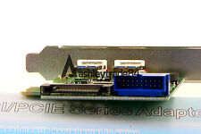 PCI-E to 2 Ports USB 3.0  Expansion Card with 19/20 Pin Connector SATA Power