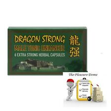 Herbal Pills Dragon Strong Light Rock Hard Aid x 6 Extra Strong Capsules