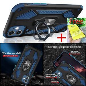 Magnetic Ring Shockproof Case for Motorola G8 G9 Power Lite Hybrid  Phone Cover