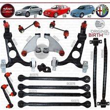BIRTH QUERLENKER SATZ 16-TEILE VORNE HINTEN ALFA ROMEO 147 156 GT NEU & ORIGINAL