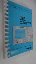 TEKTRONIX 2439 DIGITAL OSCILLOSCOPE OPERATORS MANUAL