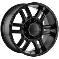 Ion 179 17x8 7x150 Matte Black Wheel Rim
