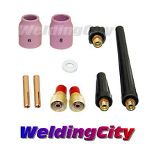 "TIG Welding Gas Lens Accessory Kit (1/8"") for Torch 9/20/25 T41 (US Seller)"
