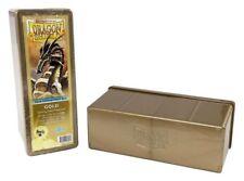 Dragon Shield - 4 compartimento STORAGE BOX GOLD-carte box