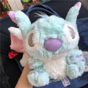 Disney blue sitting Stitch Plush Soft Stuffed Toy 20cm