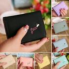 Cute Lady Women Fashion Cute Purse Clutch Wallet Short Small Bag PU Card Holder
