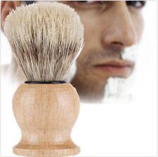 Men Shaving Bear Brush Best Badger Hair Shave Wood Handle Razor Barber Tool New