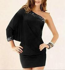 Unbranded Polyester One Shoulder Party Dresses for Women