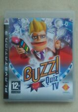 Buzz Quiz TV - PS3 - PAL - GAME ONLY (NO BUZZERS INCLUDED)