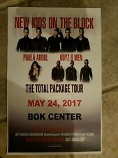 New Kids On The Block 11x17 tour promo concert poster tickets cd nkotb