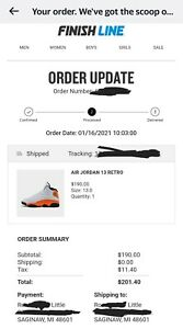 Jordan Retro 13 Starfish Size 13 **FinishLine Confirmed**