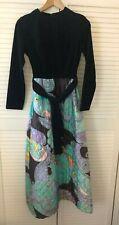 Original 1970s American Sears Roebuck vintage psychedelic print maxi dress