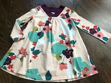 Girl's TEA COLLECTION Multi-Color Floral Print Dress - Size 4