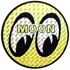 "Mooneyes 1.5"" Prisim Metal Flake Decal prizim prism disco moon california helmet"