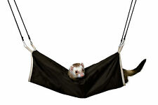 Cuddly Brown & Beige Tunnel Hammock for Ferrets 45cm